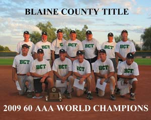 Blaine County World Softball Champions