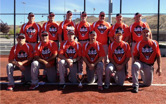 Flying 50s Win Senior Softball Tournament in Reno, Nevada